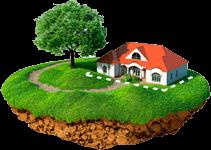 Уточнение границ земельного участка (под домом/зданием)