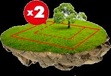 Увеличение площади земельного участка