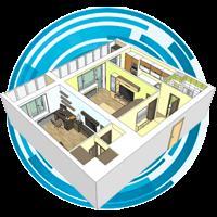 Технический план жилых (квартира) или нежилых помещений